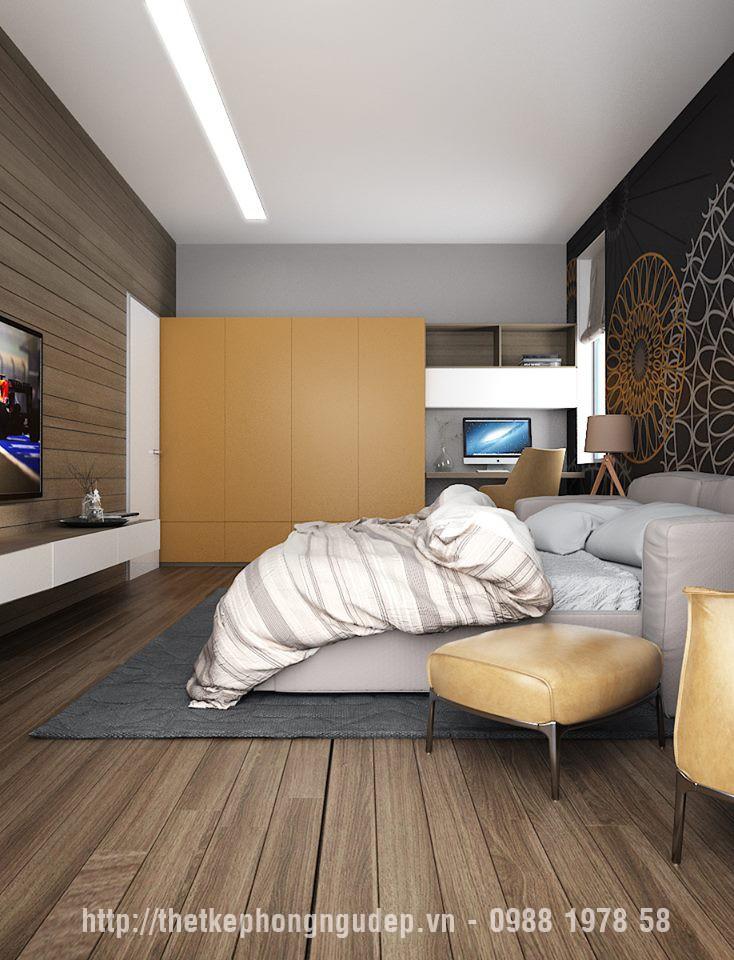 nội thất phòng ngủ hiện đại nhà chung cư