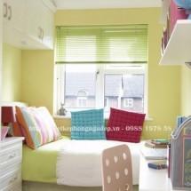 Thiết kế nội thất phòng ngủ nhỏ màu sắc